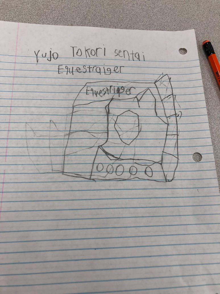 My third Sentai (Yujo Tokori Sentai Equestriager) by Gattaiphill