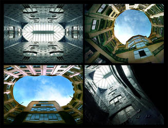 Gaudi courtyards by Sylph-Art