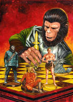 Planet of the Apes by patjanus