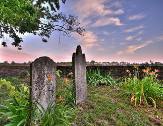 Civil War Era Graveyard Spring Hill, TN by poetking