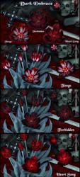 Dark Embrace For Lisa's Botanicals Tulips 2 by NapalmArsenal