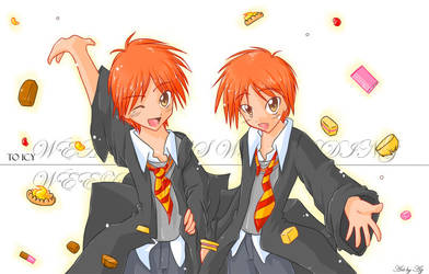 Take your pic - Fred n George by Uberzers
