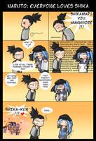Naruto - Everyone loves Shika by Uberzers