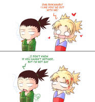 Shika's not gay... by Uberzers