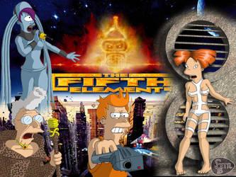 futurama fifth element by RikudaSanin