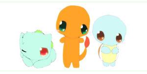 Starter Pokemon by Pie4Me