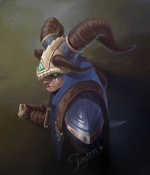 Smite Fan Art: Loki by SOWS631