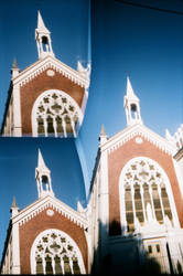 Lomo Robot 3 - Church by IvanHajduk
