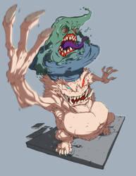 Make my monster sketch daily by DawidFrederik