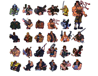Broforce Avatars by DawidFrederik