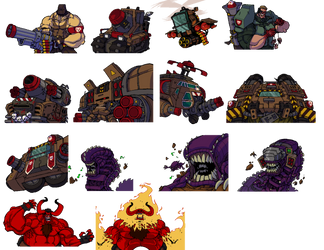 Broforce Boss unlocks by DawidFrederik