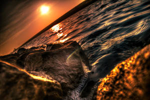 Stone in Water by t-3-t
