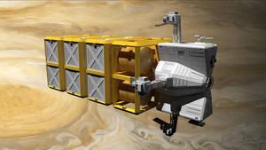 Samson Multipurpose Spacecraft by Reactor-Axe-Man