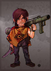 Walking Dead - Daryl by Rikyo