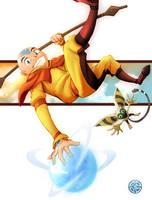 Avatar::Aang Jam by Rikyo