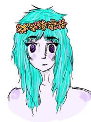 .:Flower Crown:. by Eridan-Swwag