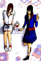 Crossdressing by hanakitsunechan7