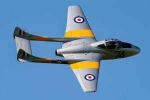 de Havilland Vampire T.11 by Daniel-Wales-Images