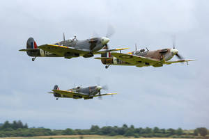 Spitfire Scramble by Daniel-Wales-Images