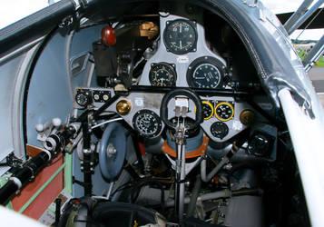 Hawker Nimrod Cockpit by Daniel-Wales-Images