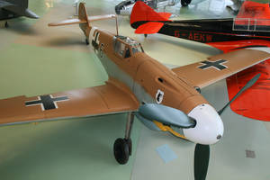 Messerschmitt ME109 G-2/Trop by Daniel-Wales-Images