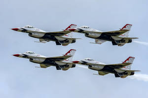 The Thunderbirds by Daniel-Wales-Images