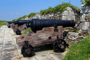 Pendennis Castle Defenses by Daniel-Wales-Images