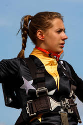 Gina Marshall, Wingwalker by Daniel-Wales-Images