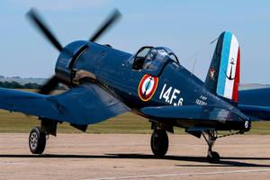 Chance Vought F4U-7 Corsair by Daniel-Wales-Images
