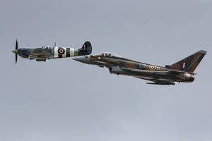 Royal Air Force Heritage Flight by Daniel-Wales-Images