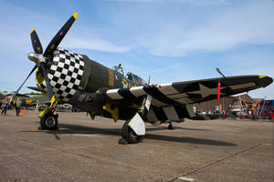 Curtiss Wright P-47G Thunderbolt by Daniel-Wales-Images