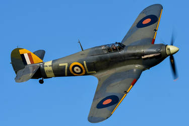Hawker Sea Hurricane Mk.Ib by Daniel-Wales-Images