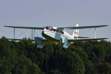 de Havilland DH89a Dragon Rapide by Daniel-Wales-Images