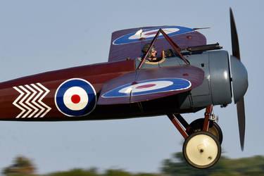 Bristol M.1C (Reproduction) by Daniel-Wales-Images