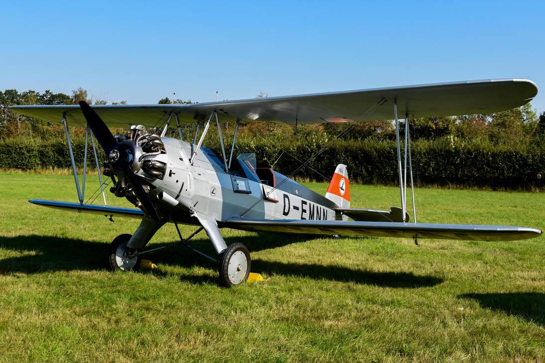 Focke-Wulf FW-44J Stieglitz by Daniel-Wales-Images