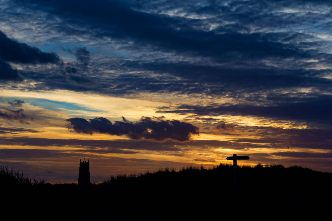 Sunset at Winterton by Daniel-Wales-Images