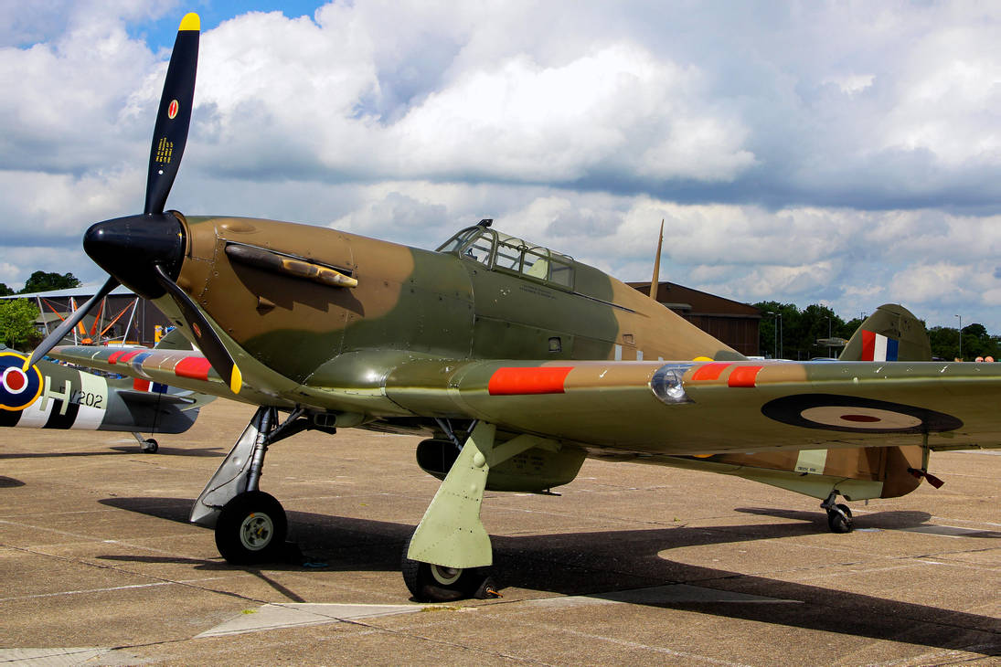Hawker Hurricane Mk.XII by Daniel-Wales-Images
