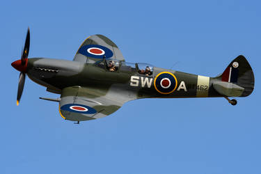 Supermarine Spitfire Mk.IXT by Daniel-Wales-Images