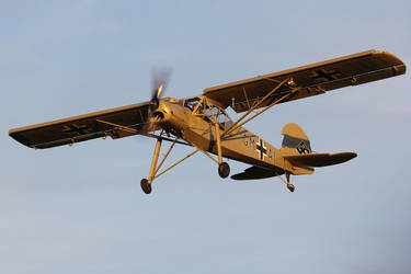 Fieseler Fi-156A-1 Storch by Daniel-Wales-Images