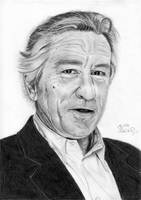 Robert De Niro by byMichaelX