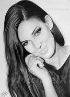 Drawing pencil - Miss Czech Republic 2009 by byMichaelX