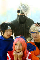 NARUTO: Team 7 by shirotom