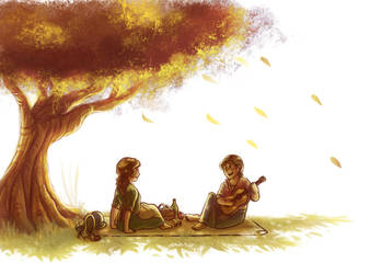 You, Me and a Sunny Tree by JesnCin