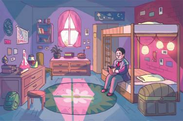 Wilbur's Room by JesnCin
