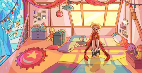 Lewis' Room by JesnCin