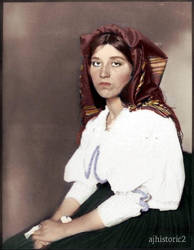 Italian Woman, 1906 by ajhistoric2