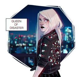 Queen of disaster by HetteMaudit