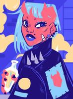 Demon Girl by HetteMaudit