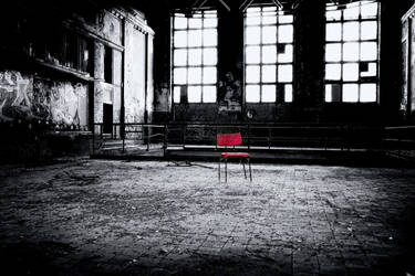lonely seat by LumenDonas