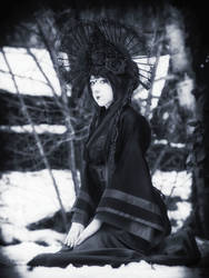 black geisha by LumenDonas